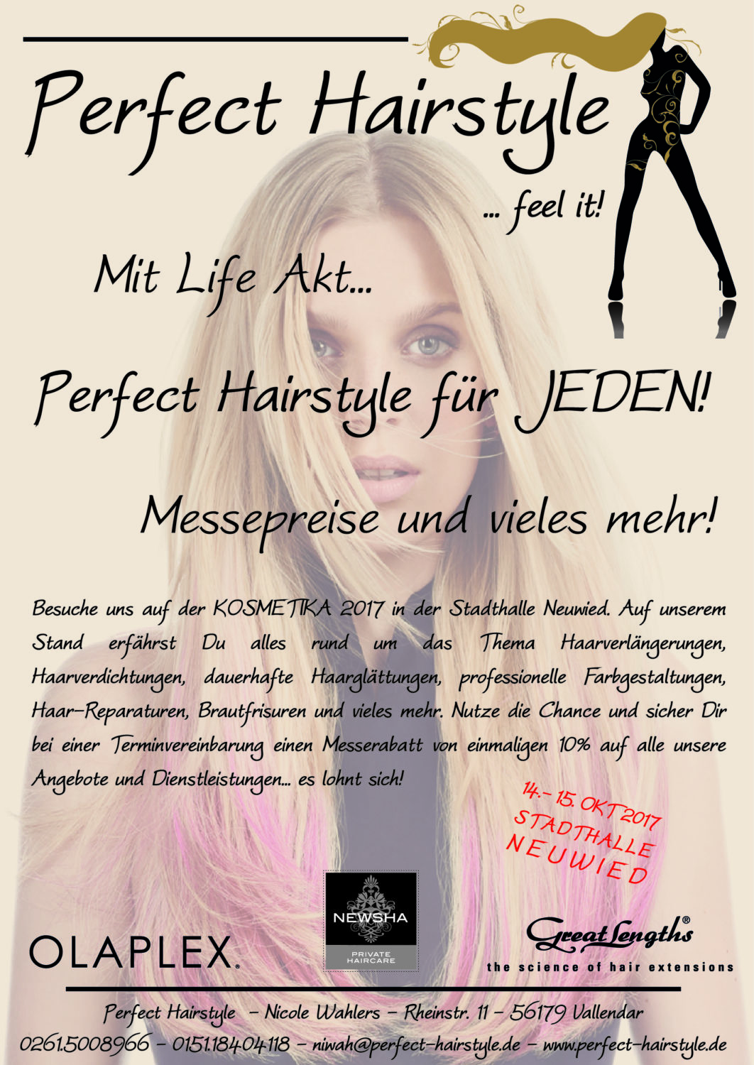 Beautymesse Beautymesse Rheinland mit Perfect Hairstyle im Heimat Haus Neuwied 01 Logo Perfect Hairstyle DINA5 high 01 1062x1500